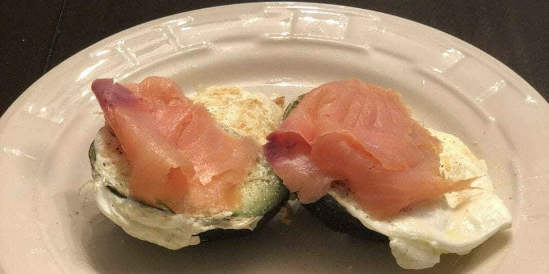 Avocado Eggs Smoked Salmon Breakfast Recipe
